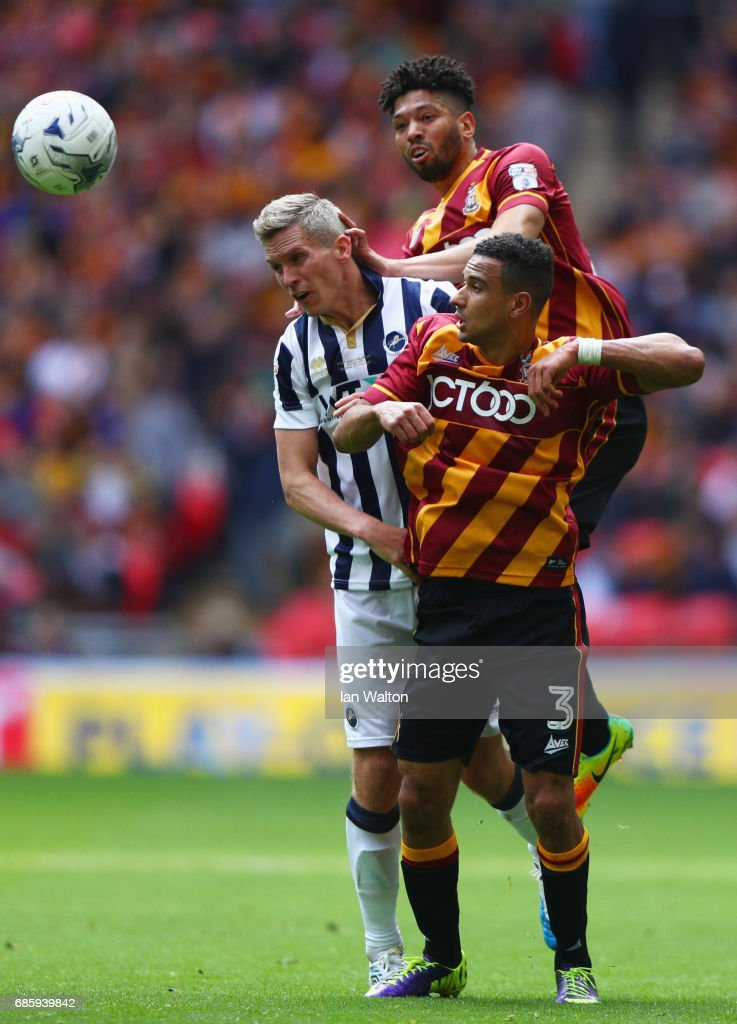 Bradford City v Millwall - Sky Bet League One Playoff Final