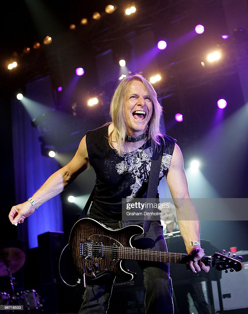 Steve Morse of Deep Purple performs on stage during their concert at the Sydney Entertainment Centre on April 28, 2010 in Sydney, Australia.