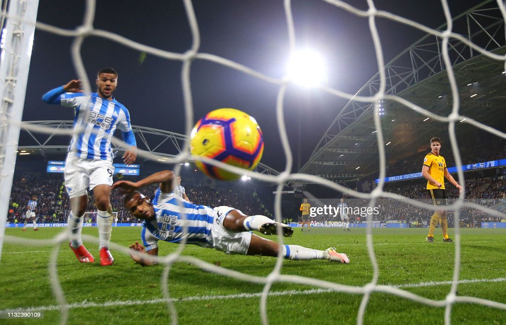 GBR: Huddersfield Town v Wolverhampton Wanderers - Premier League