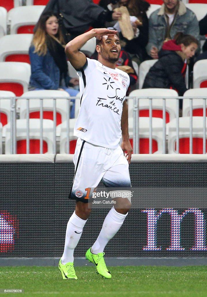 OGC Nice v Montpellier Herault SC - Ligue 1 In Nice