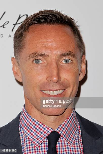 Steve Nash attends the 15th annual Harold and Carole Pump Foundation gala at the Hyatt Regency Century Plaza on August 7 2015 in Los Angeles...