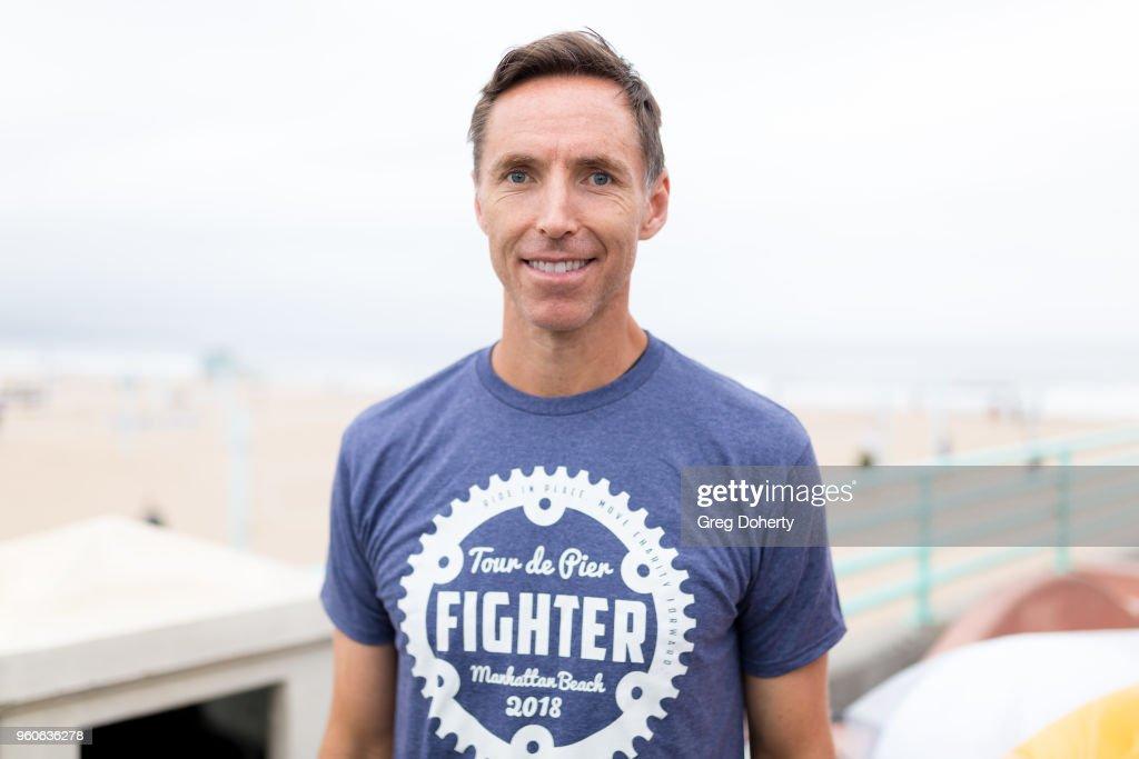 Steve Nash attends the 6th Annual Tour de Pier at Manhattan Beach Pier on May 20, 2018 in Manhattan Beach, California.