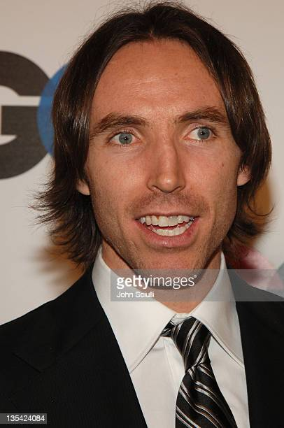 Steve Nash during GQ Magazine Celebrates the 2005 Men of the Year Arrivals at Mr Chow in Beverly Hills California United States