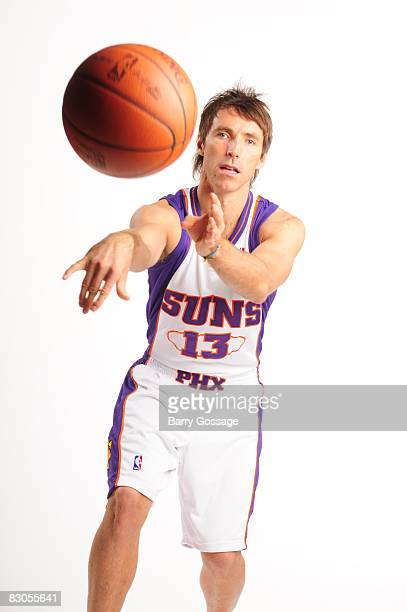 Steve Nash of the Phoenix Suns poses for a portrait during NBA Media Day on September 29 at US Airways Center in Phoenix Arizona NOTE TO USER User...