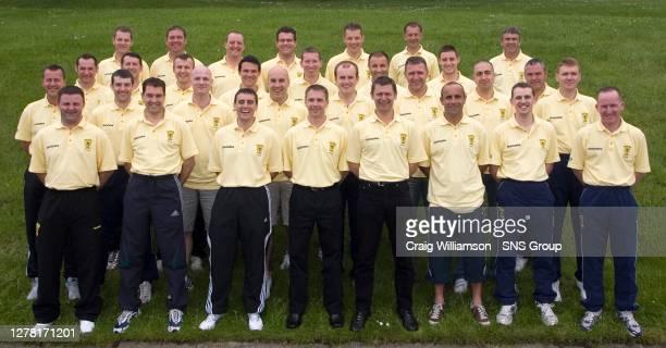 Steve Nicholls, Dougie McDonald, Euan Norris, Crawford Allan, Stuart Dougal, Anthony Law, Alan Boyd and David Somers. Eddie Smith, Alan Muir, Craig...