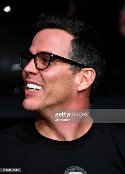 Steve O Attends The Ufc 246 Event At T Mobile Arena On January 18