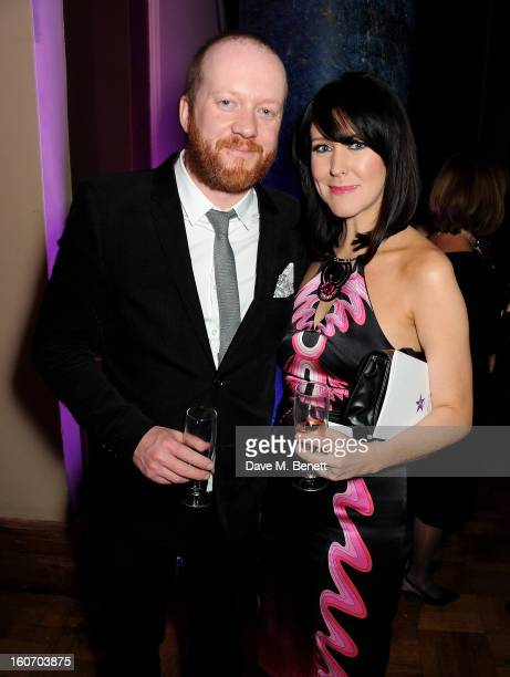 Steve Oram and Alice Lowe attend the London Evening Standard British Film Awards supported by Moet Chandon and Chopard at the London Film Museum on...
