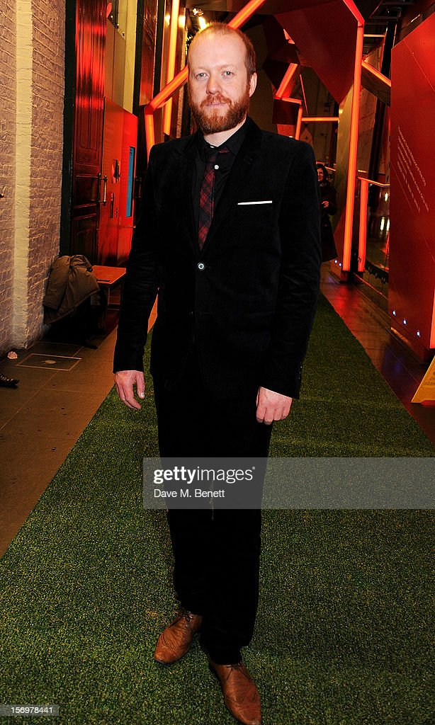 Steve Oram attends the UK Premiere of 'Sightseers' in association with Stella Artois at the London Transport Museum on November 26, 2012 in London, England.