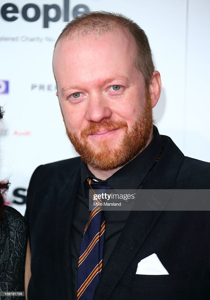 Steve Oram poses in the press room at the London Film Critics Circle Film Awards at The Mayfair Hotel on January 20, 2013 in London, England.