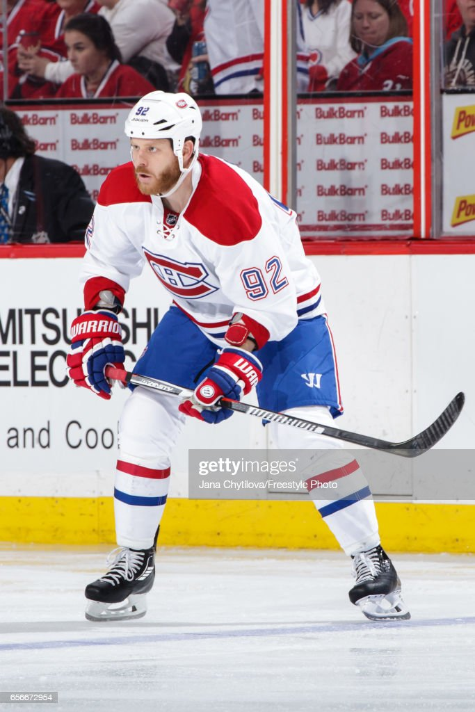 detailed look b9aff f275c Steve Ott of the Montreal Canadiens skates against the ...