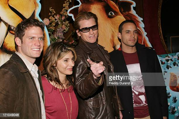 Steve Pasquale, Callie Thorne, Denis Leary and Daniel Sunjata