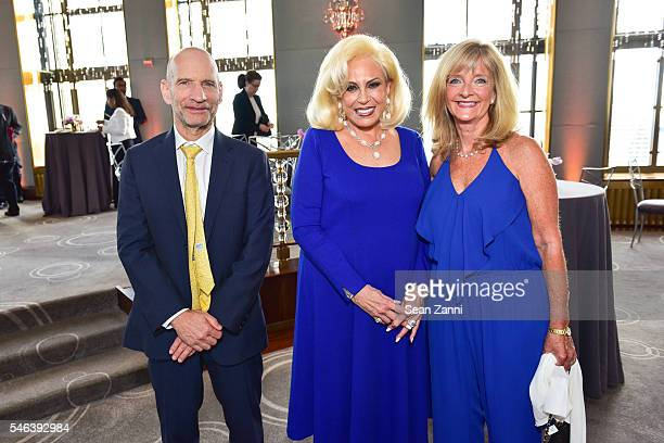 Steve Pastor Harriette Rose Katz and Laura Leigh attend Harriette Rose Katz Hosts The Second Anniversary of The Chosen Few at The Rainbow Room on...