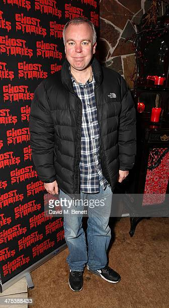Steve Pemberton attends the after party for the press night of Ghost Stories at on February 27 2014 in London England