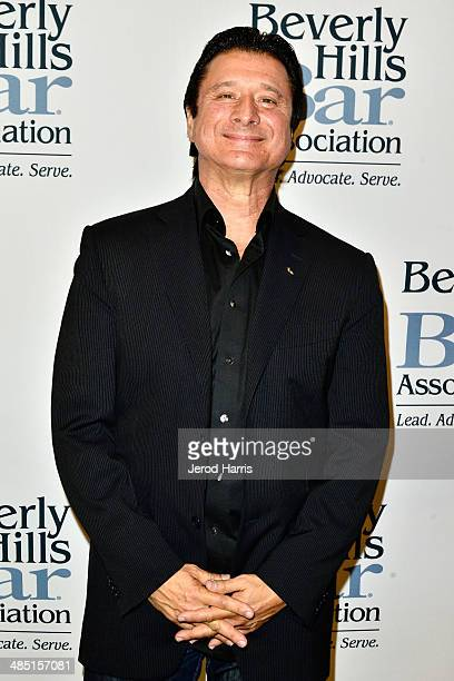 Steve Perry attends the Beverly Hills Bar Association's Entertainment Lawyer of the Year Dinner at Beverly Hills Hotel on April 16, 2014 in Beverly...