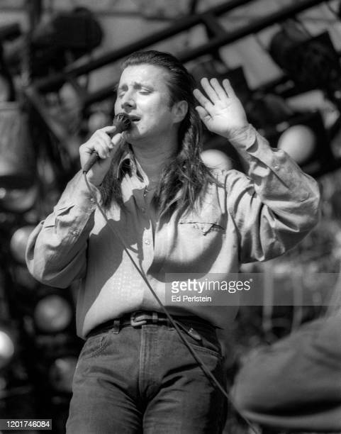Steve Perry performs with Journey at the Bill Graham tribute concert at the Polo Fields in Golden Gate Park in San Francisco, California - November...