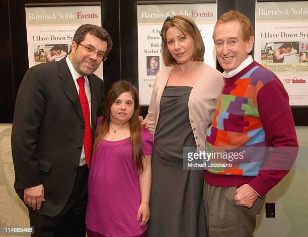 """Steve Riggio, CEO, Barnes & Noble, Melissa Riggio, Rachel Fuller and Bob McGrath, """"Sesame Street Bob"""""""