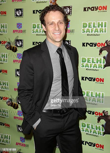 Steve Rizzo attends 'Delhi Safari' Los Angeles premiere at Pacific Theatre at The Grove on December 3 2012 in Los Angeles California