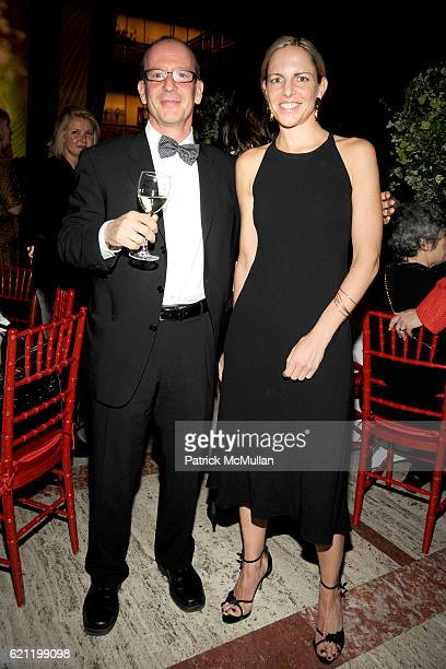 Steve Ross and Mary Sue Rucci attend Literacy Partners Hosts Annual Gala An Evening of Readings Honoring David and Julia Koch at Lincoln Center on...