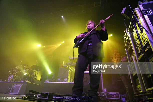 Steve Rothery of Marillion during Marillion in Concert at The Forum in London December 5 2005 at The Forum in London Great Britain