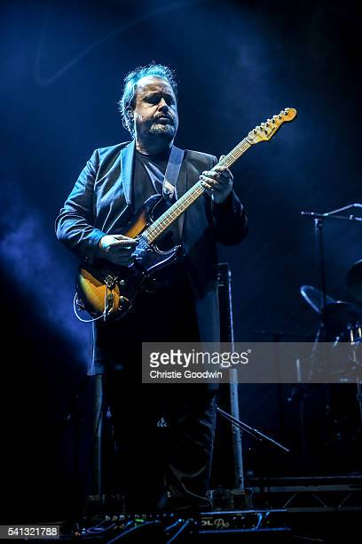Steve Rothery of Marillion performs on stage on day 2 of Stone Free Festival at The O2 Arena on June 19 2016 in London England