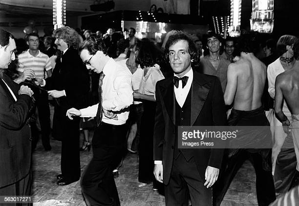 Steve Rubell at Studio 54 circa 1979 in New York City