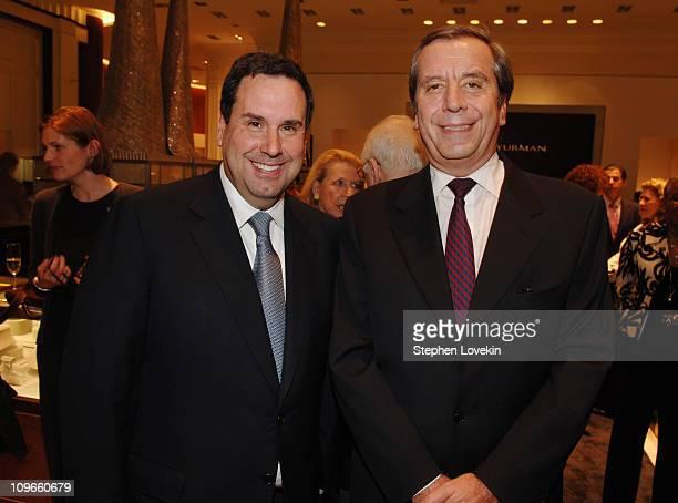 Steve Sadove CEO of Saks and Henri Barguirdjian CEO of Graff