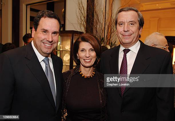 Steve Sadove CEO of Saks Pamela Fiori EditorinChief of Town and Country and Henri Barguirdjian CEO of Graff