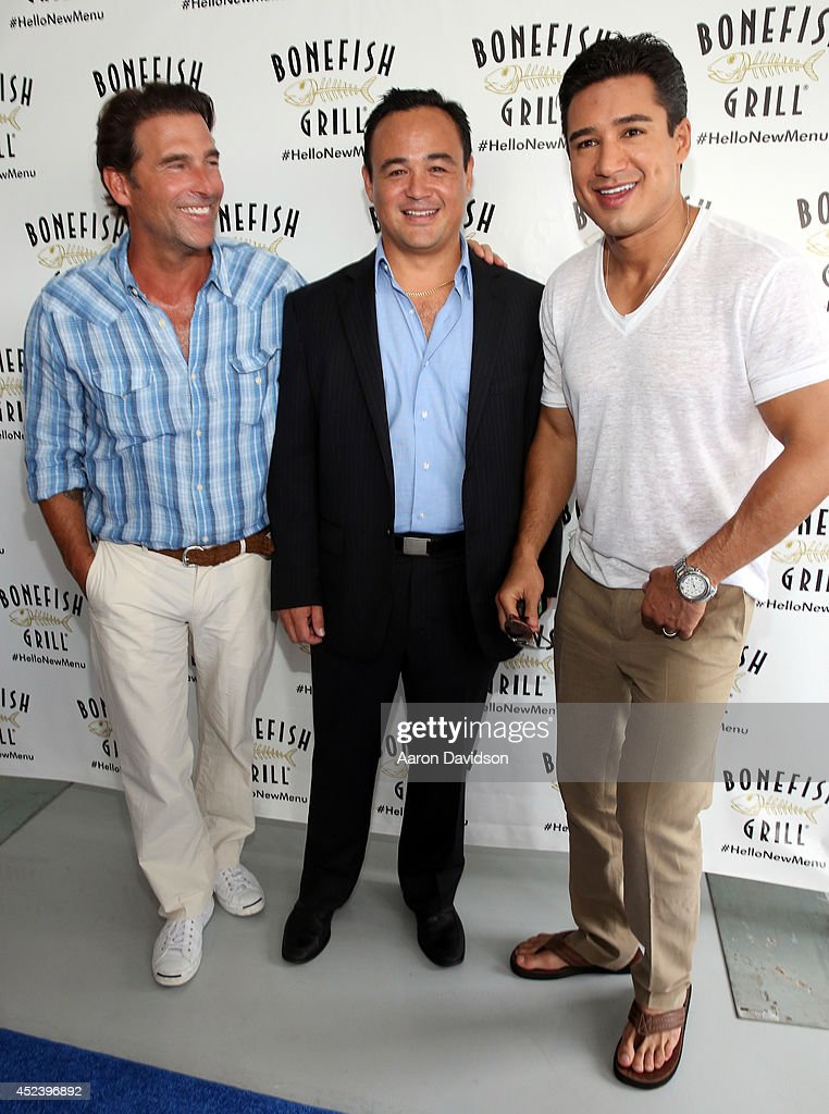 Bonefish Grill Launches New Menu With Celebrity Host Mario Lopez At Private Dockside Party And Cruise in Miami