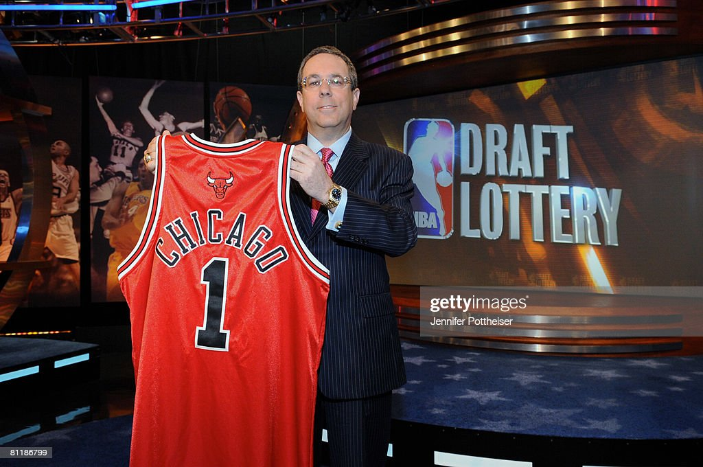 Steve Schanwald, Executive Vice President of Baketball Operations of the Chicago Bulls poses for a photo during the 2008 NBA Draft Lottery at the NBATV Studios on May 20, 2008 in Secaucus, New Jersey.