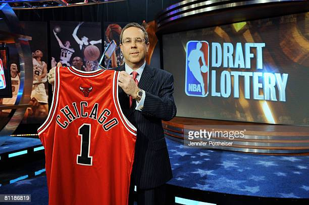 Steve Schanwald Executive Vice President of Baketball Operations of the Chicago Bulls poses for the camera during the 2008 NBA Draft Lottery at the...