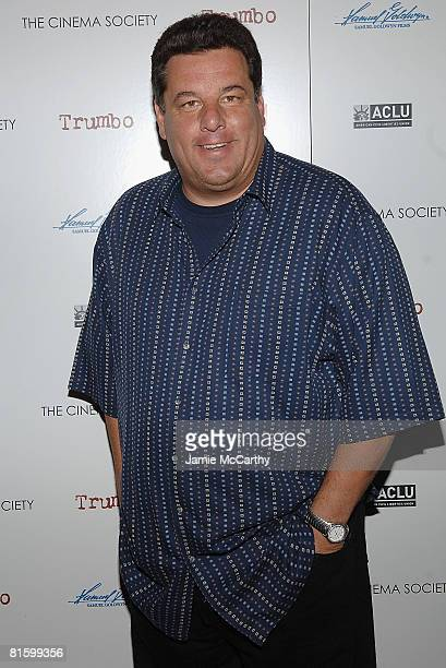 Steve Schirippa attends a special screening of Trumbo hosted by The Cinema Society and the ACLU on June 16 2008 at the Tribeca Cinemas in New York