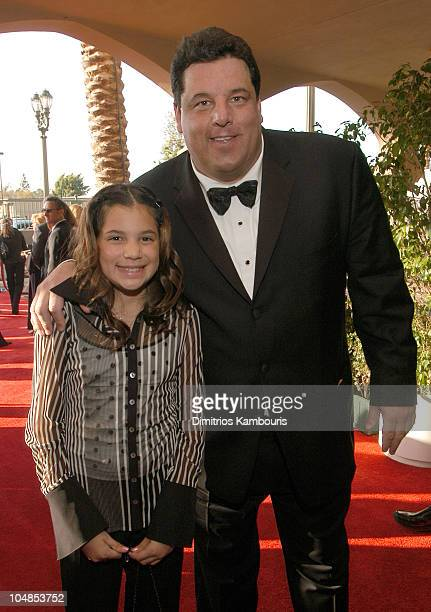 Steve Schirripa and daughter Bria during Ninth Annual Screen Actors Guild Awards Backstage and Audience at The Shrine Auditorium in Los Angeles...