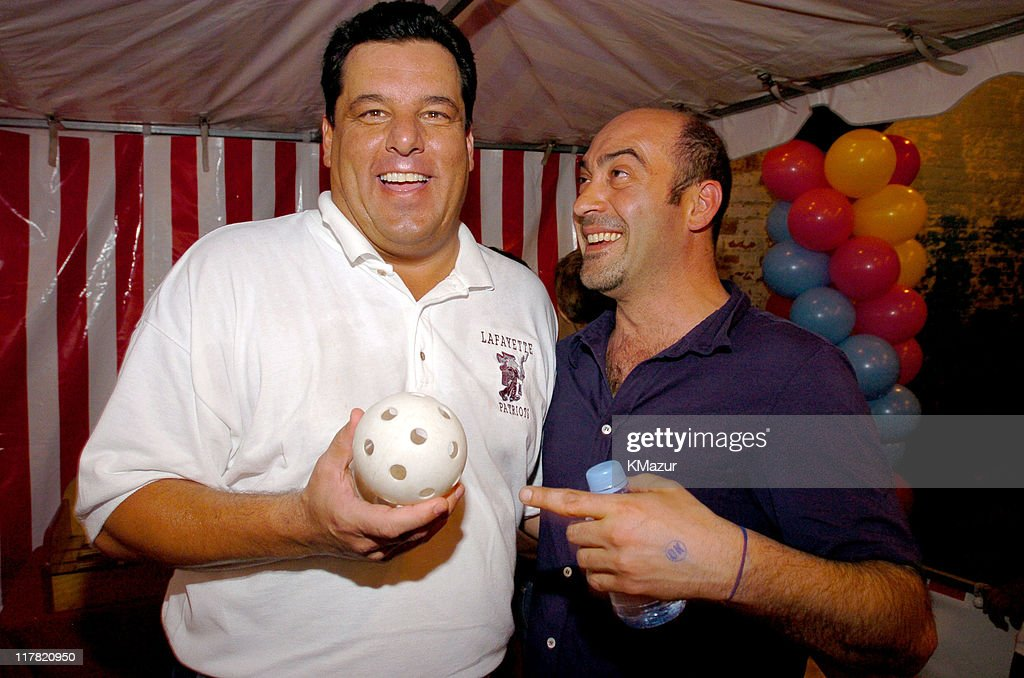 Steve Schirripa and John Ventimiglia during 11th Annual Kids for Kids Celebrity Carnival to Benefit the Elizabeth Glaser Pediatric AIDS Foundation - Inside at Industria Superstudio in New York City, New York, United States.