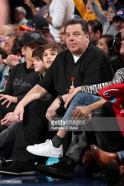 Steve Schirripa attends the game between the Sacramento Kings and the New York Knicks on March 9 2019 at Madison Square Garden in New York City New...