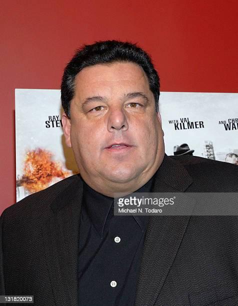 Steve Schirripa attends the premiere of 'Kill the Irishman' at Landmark's Sunshine Cinema on March 7 2011 in New York City