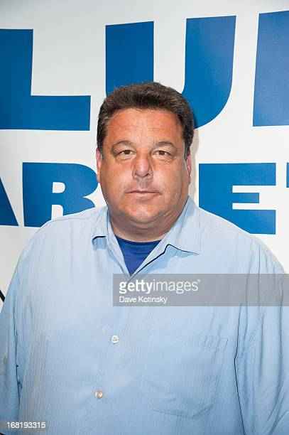Steve Schirripa attends the Washington Capitals vs New York Rangers 2013 Playoff Game Three at Madison Square Garden on May 6 2013 in New York City