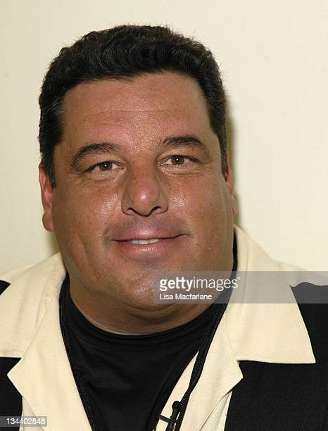 Steve Schirripa during Olympus Fashion Week Spring 2006 Rebecca Taylor Backstage and Runway at New York Public Library in New York City New York...