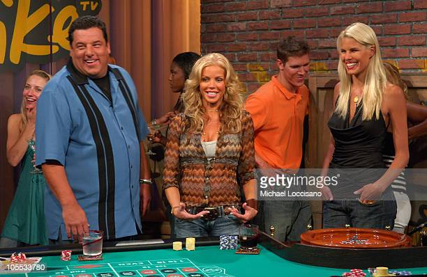 Steve Schirripa Jessica Canseco and Beth Ostrosky *Exclusive Coverage*