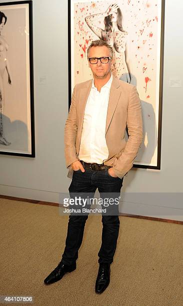 Steve Shaw attends the Treats Magazine PreOscar Party at the Treats Villa presented by OMNIA on February 21 2015 in Los Angeles California