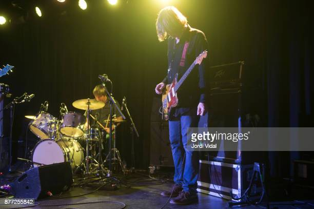 Steve Shelley and Thurston Moore perform on stage at Sala Apolo on November 21 2017 in Barcelona Spain