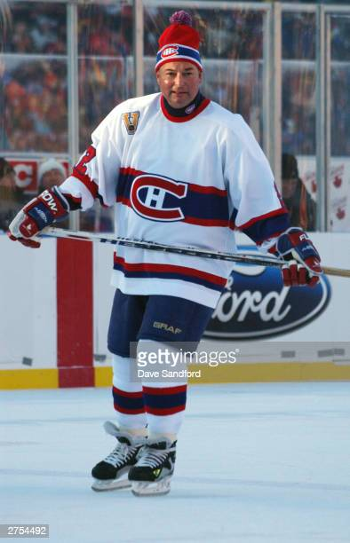 Steve Shutt of the Montreal Canadiens skates against the Edmonton Oilers during the Molson Canadien Heritage Classic Megastars Game on November 22...