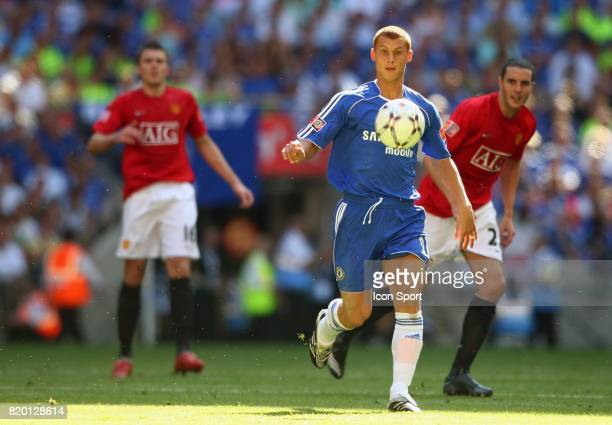 Steve SIDWELL Manchester United / Chelsea Community Shield Wembley Londres