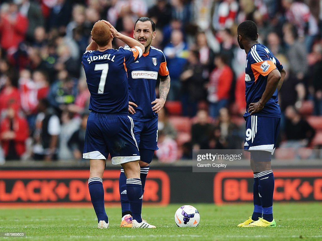 Stoke City v Fulham - Premier League : News Photo