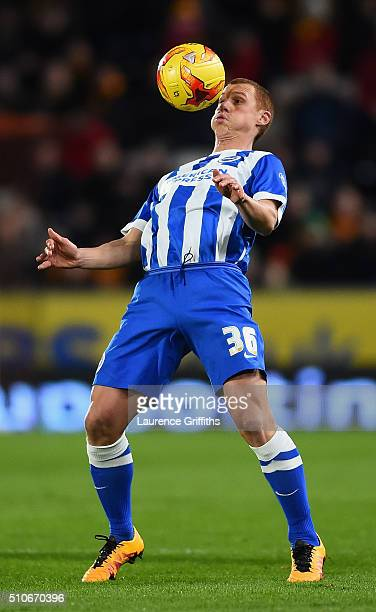 Steve Sidwell of Brighton and Hove Albion in action during the Sky Bet Championship match between Hull City and Brighton and Hove Albion at KC...