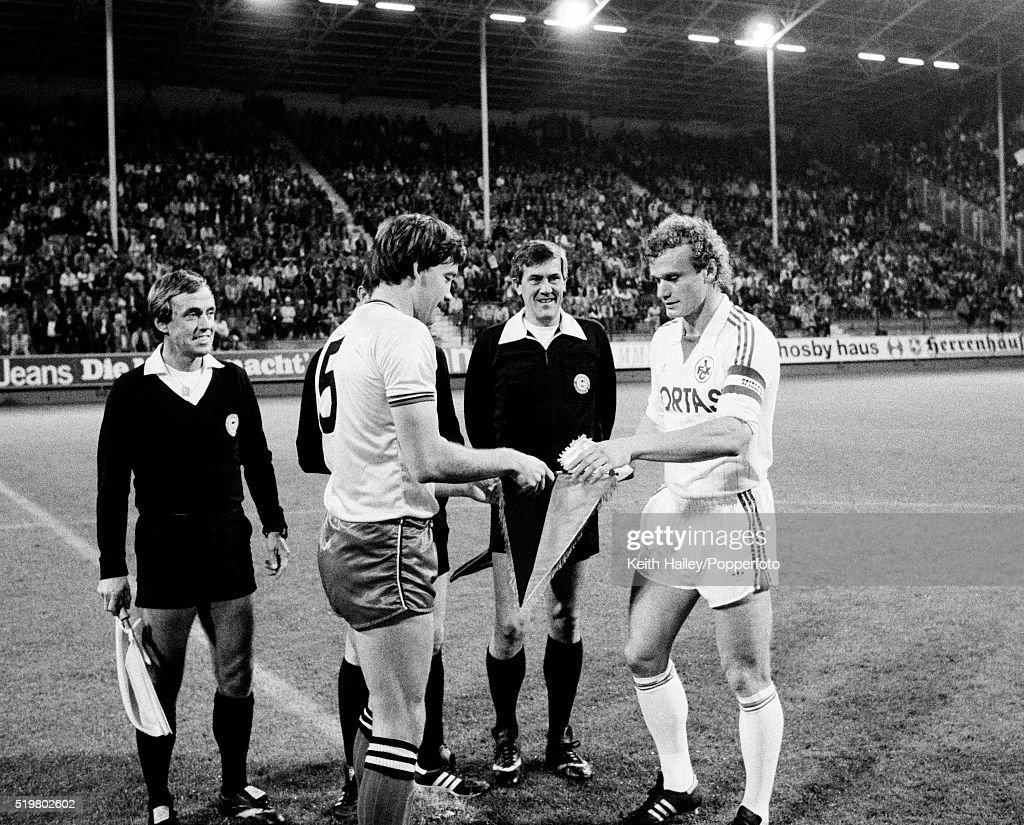 UEFA Cup 1st Round 1st Leg - Kaiserslautern v Watford : News Photo