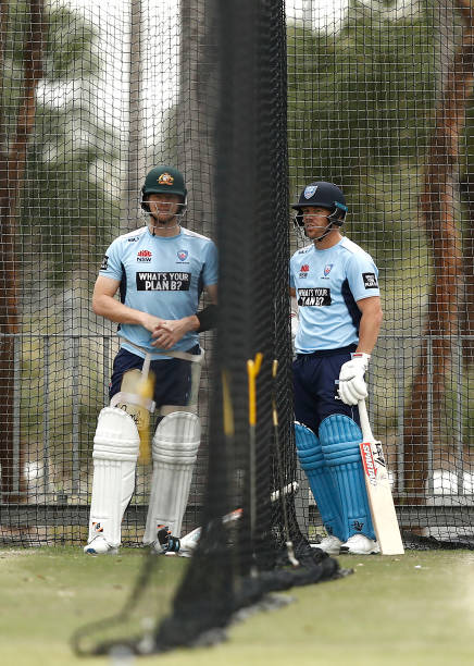 AUS: New South Wales Based Australian Cricket Players Nets Session