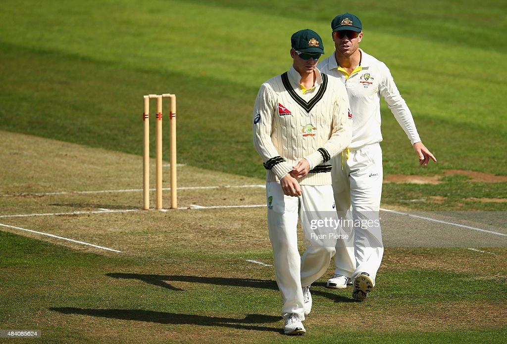 Northamptonshire v Australia - Tour Match : News Photo