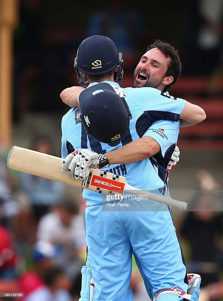 NSW v SA - Matador BBQ One Day Cup: Final
