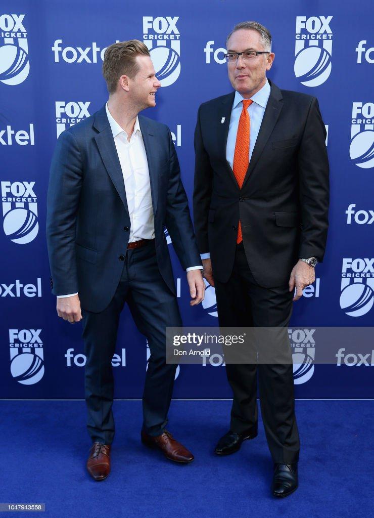 Fox Cricket Launch - Arrivals : News Photo