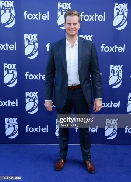 Steve Smith attends the Fox Cricket Launch at Hordern Pavilion on October 9 2018 in Sydney Australia